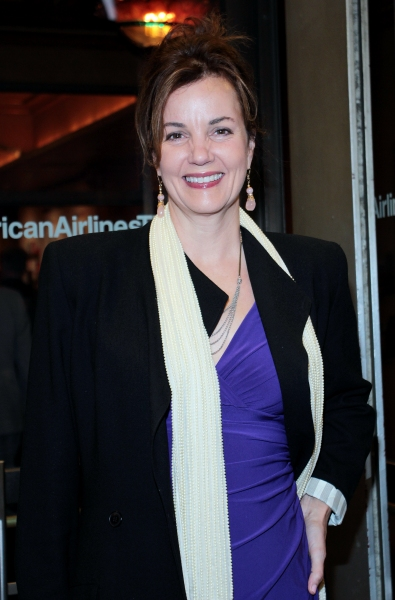 Margaret Colin at CYRANO DE BERGERAC Opening Night Red Carpet!