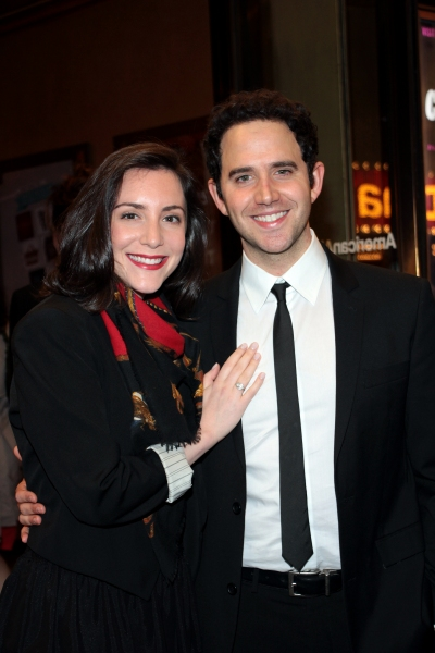 Santino Fontana at CYRANO DE BERGERAC Opening Night Red Carpet!