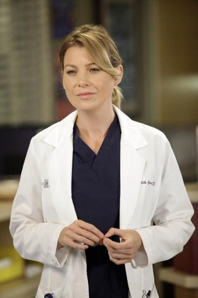ELLEN POMPEO    at First Look at GREY'S ANATOMY Episode 'I Saw Her Standing There,' Airs 10/25
