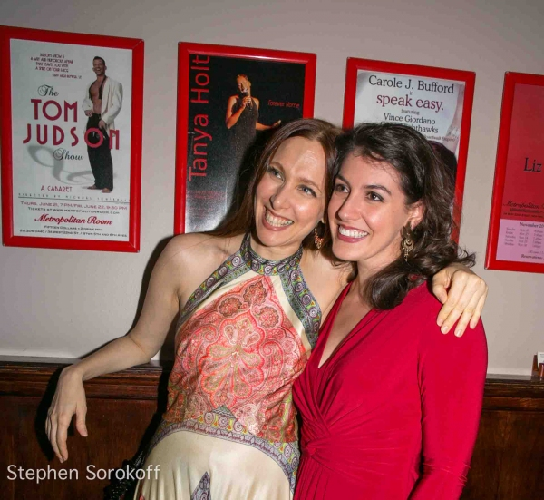 Lauren Fox & Jennifer Sheehan at Lauren Fox Brings CANYON FOLKIES to Metropolitan Room