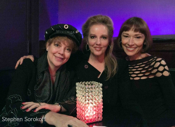 KT Sullivan, Stacy Sullivan, Karen Akers at Lauren Fox Brings CANYON FOLKIES to Metropolitan Room