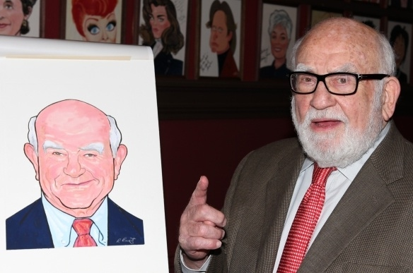 Ed Asner at THIS WEEK IN PICTURES: October 7 - 12