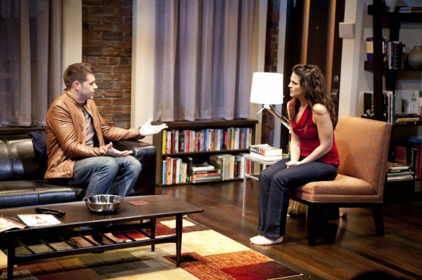 Thomas Keegan and Rachel Zampelli