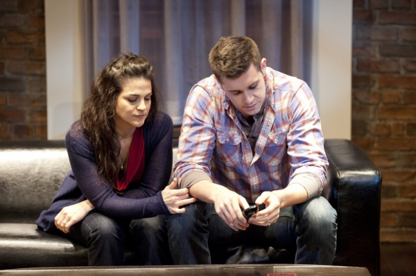 Rachel Zampelli and Thomas Keegan