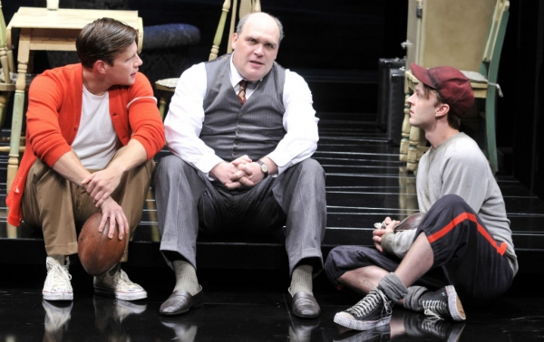 Zachary Spicer, Glenn Fleshler and Jay Sullivan