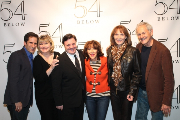 SETH RUDETSKY, DEBRA MONK, NATHAN LANE, ANDREA MARTIN, DEE HOTY and VICTOR GARBER