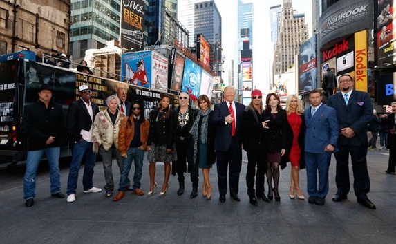 Trace Adkins, Dennis Rodman, Gary Busey, Lil Jon, Claudia Jordan, Dee Snider, Lisa Rinna, Donald Trump, Bret Michaels, Marilu Henner, Brande Roderick, Stephen Baldwin, Penn Jillette