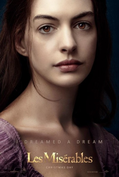 Photo Flash: Fourth LES MISERABLES Film Poster Revealed Featuring Anne Hathaway as 'Fantine'