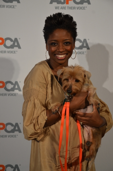 Photo Flash: Montego Glover Supports ASPCA at Young Friends Benefit