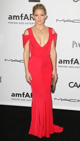 Kate Hudson attending amfAR Inspiration Gala (Photo by Rex USA)