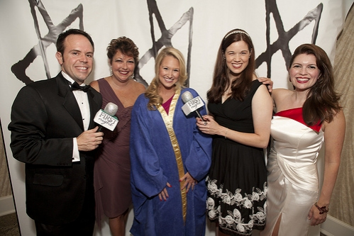 Hugh Britt, Cary Street, Bailey Hanks, Angela Gimlin and Jennifer Richmond