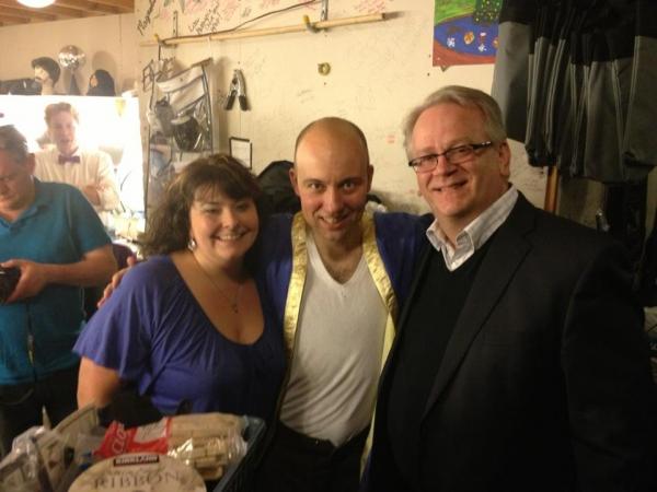 Sondra Morton, Paul Cook and Jeffrey Ellis Photo