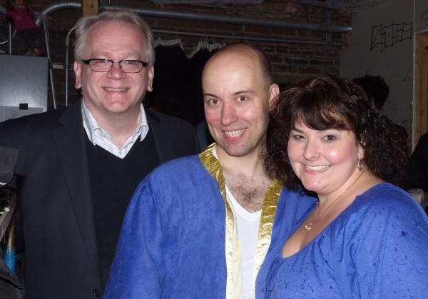 Jeffrey Ellis, Paul Cook and Sondra Morton Photo
