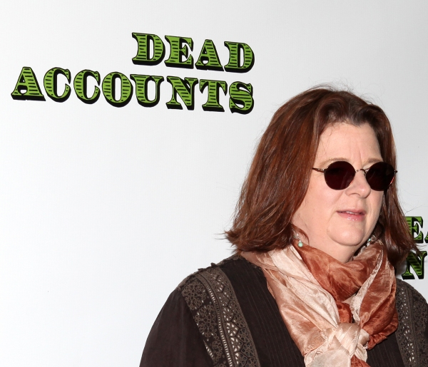 Playwright Theresa Rebeck  at Norbert Leo Butz, Katie Holmes and DEAD ACCOUNTS Cast Meet the Press!