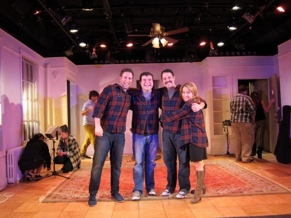 Photo Flash: Jason Robert Brown, Todd Buonopane and Jennifer Cody Stop By THE OTHER JOSH COHEN