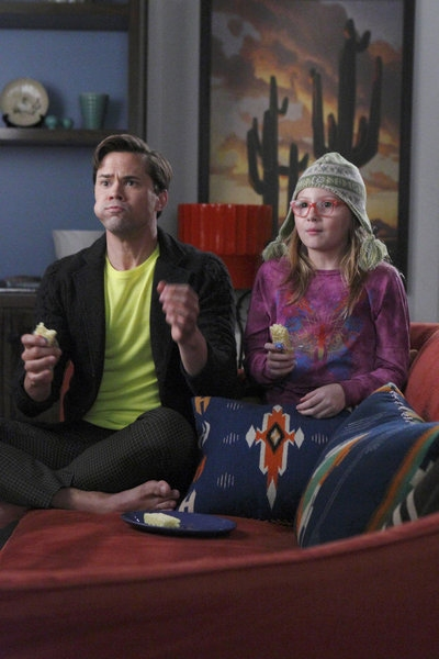 Andrew Rannells, BeBe Wood at Preview of THE NEW NORMAL's Upcoming Episode, 'The Godparent Trap,' Airs 10/23