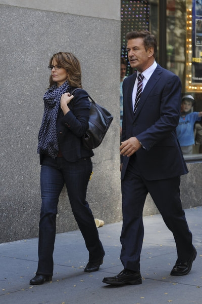Tina Fey, Alec Baldwin at Preview of 30 ROCK's Upcoming Episode, 'Stride of Pride,' Airs 10/18