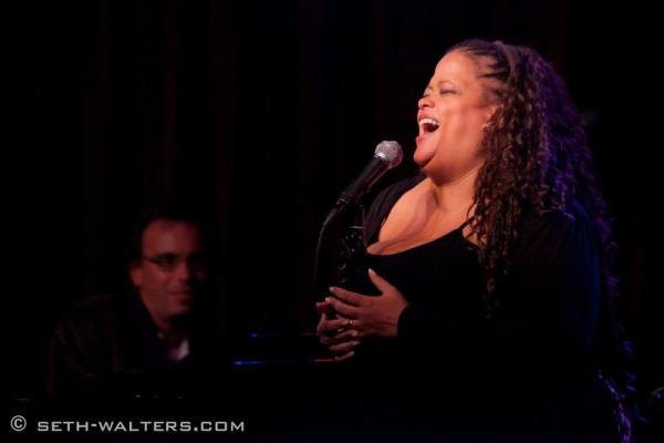 Natalie Douglas at Robert Cuccioli Debuts THE LOOK OF LOVE at Broadway at Birdland