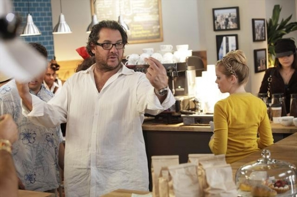 Photo Flash: Behind-the-Scenes Look at 10/30 Episode of DON'T TRUST THE B---- IN APARTMENT 23's