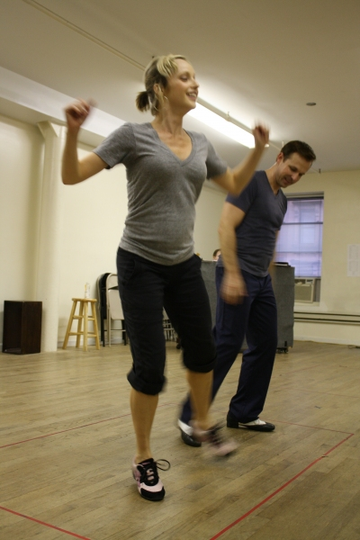 """Tim Falter and Nadine Isenegger rehearse """"Love Is A Dancing Thing"""" Photo"""