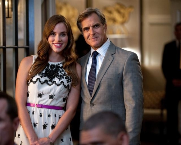 CHRISTA B. ALLEN, HENRY CZERNY    at Behind-the-Scenes Look at REVENGE's 10/14 Episode,