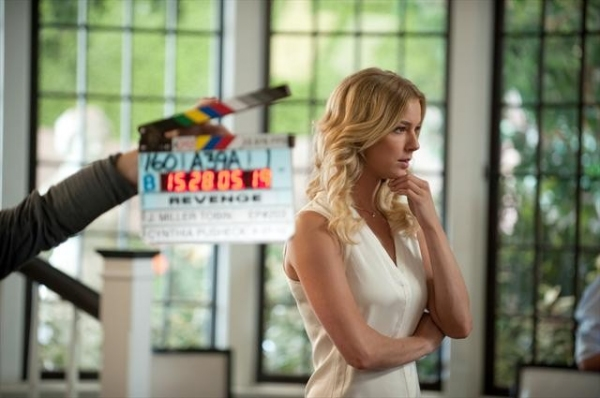 EMILY VANCAMP    at Behind-the-Scenes Look at REVENGE's 10/14 Episode,