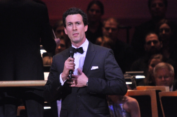 Aaron Lazar at Kelli O'Hara, Aaron Lazar, and More in New York Pops' SOME ENCHANTED EVENING