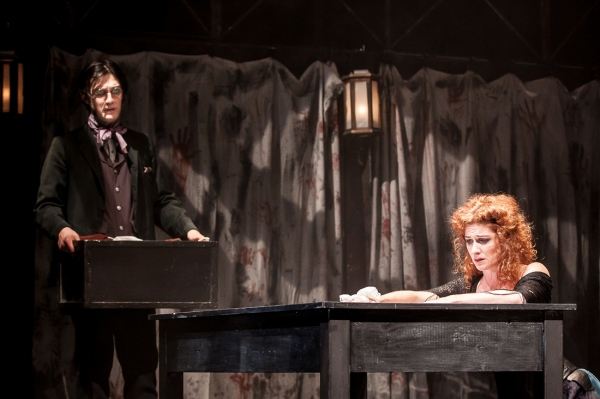 Photo Flash: Theatre 20's BLOODLESS: The Trial of Burke and Hare