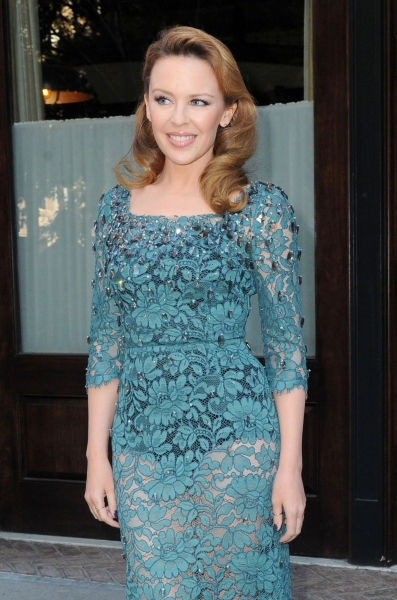 Kylie Minogue out and about in New York City(Photo by Rex USA) at Fashion Photo of the Day 10/13/12 - Kylie Minogue