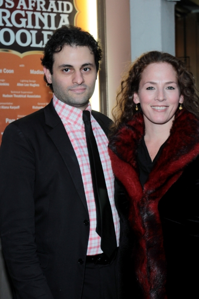 Arian Moayed, Krissy Shields at WHO'S AFRAID OF VIRGINIA WOOLF? Opening Night Arrivals!