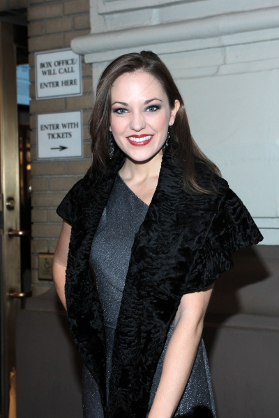 Laura Osnes at WHO'S AFRAID OF VIRGINIA WOOLF? Opening Night Arrivals!