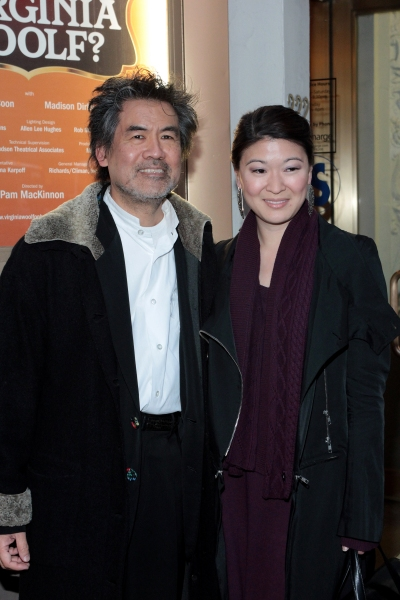 David Henry Hwang, Jennifer Lim at WHO'S AFRAID OF VIRGINIA WOOLF? Opening Night Arrivals!
