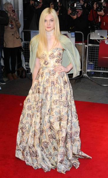 Elle Fanning 'Ginger & Rosa' film premiere, 56th BFI London Film Festival (Photo by Can Nguyen/Rex / Rex USA) at Fashion Photo of the Day 10/14/12 - Elle Fanning