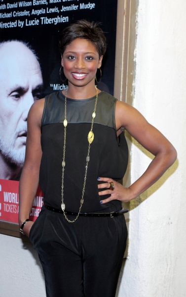 Montego Glover at Inside Opening Night of  MCC's DON'T GO GENTLE