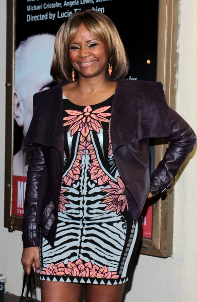Tonya Pinkins at Inside Opening Night of  MCC's DON'T GO GENTLE