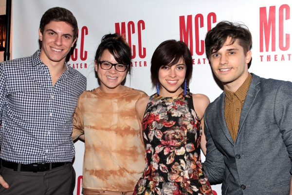 Derek Klena, Jen Sese, Krysta Rodriguez, Andy Mientus 