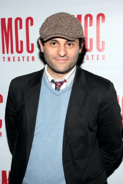 Arian Moayed at Inside Opening Night of  MCC's DON'T GO GENTLE