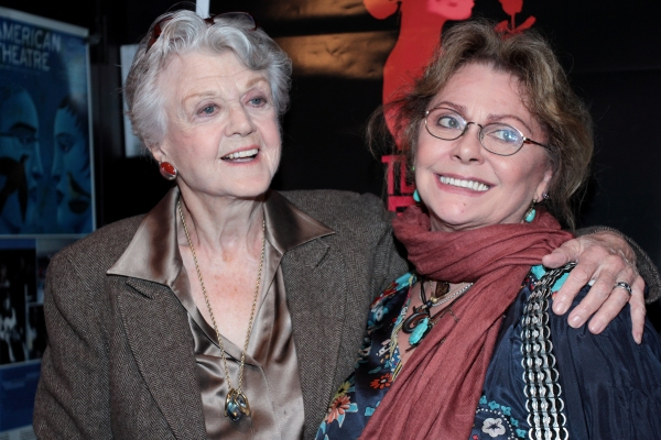 Photo Coverage: Angela Lansbury, Elizabeth Ashley Visit Private Theatre's  TURNING PAGE