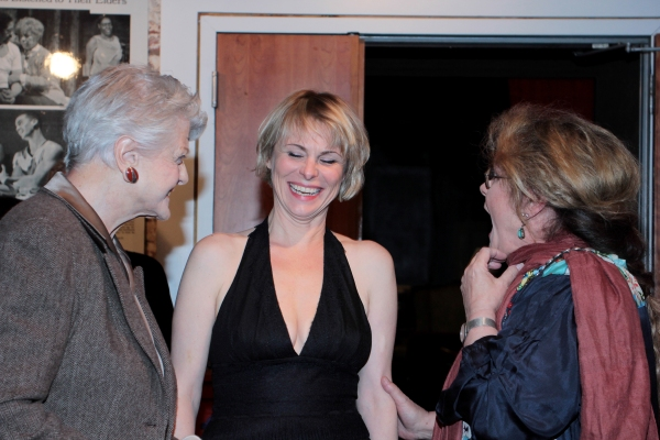 Photo Coverage: Angela Lansbury, Elizabeth Ashley Visit Private Theatre's  TURNING PAGE
