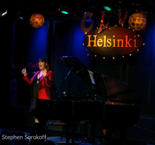 Ann Hampton Callaway  at Ann Hampton Callaway Plays Helsinki Hudson