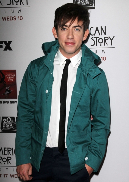 Kevin McHale at Stars Come Out for Season 2 Premiere of FX's AMERICAN HORROR STORY