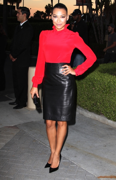 Naya Rivera at Stars Come Out for Season 2 Premiere of FX's AMERICAN HORROR STORY