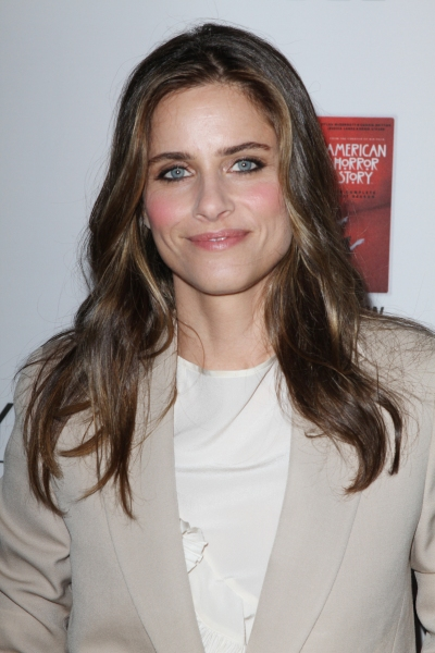 Amanda Peet at Stars Come Out for Season 2 Premiere of FX's AMERICAN HORROR STORY
