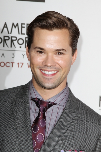 Andrew Rannells at Stars Come Out for Season 2 Premiere of FX's AMERICAN HORROR STORY