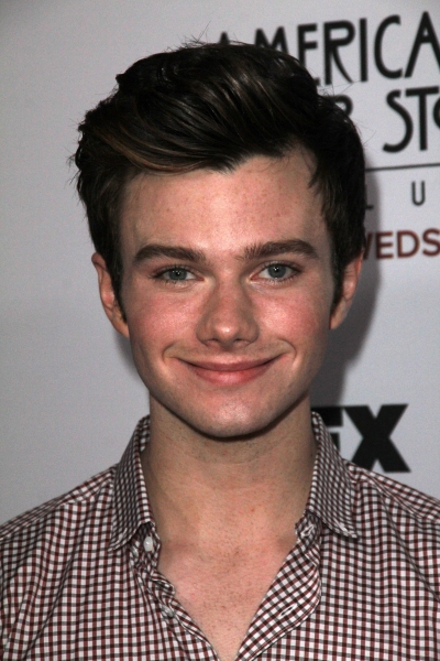 Chris Colfer at Stars Come Out for Season 2 Premiere of FX's AMERICAN HORROR STORY