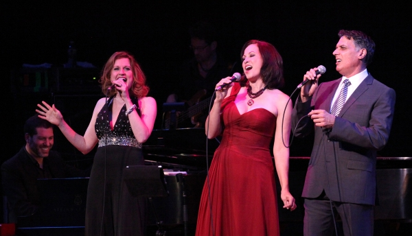Christiane Noll, Robert Cuccioli and Linda Eder with Billy Jay Stein (at Piano)