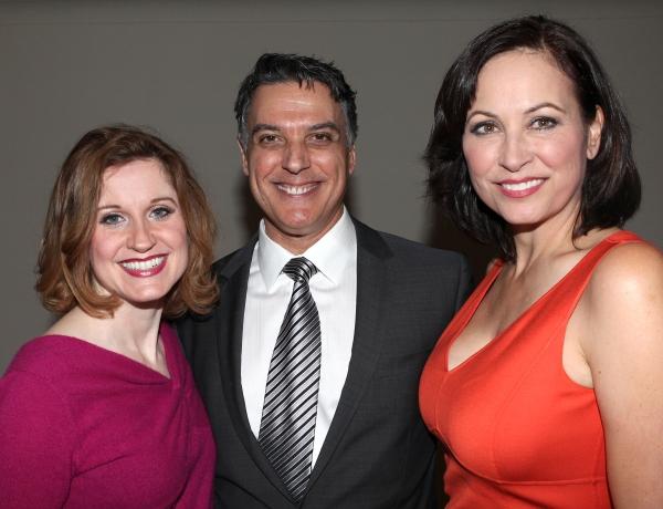 Christiane Noll, Robert Cuccioli and Linda Eder at Backstage with Linda Eder at A NEW LIFE