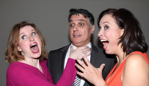 Christiane Noll, Robert Cuccioli and Linda Eder at Backstage with Linda Eder at A NEW LIFE