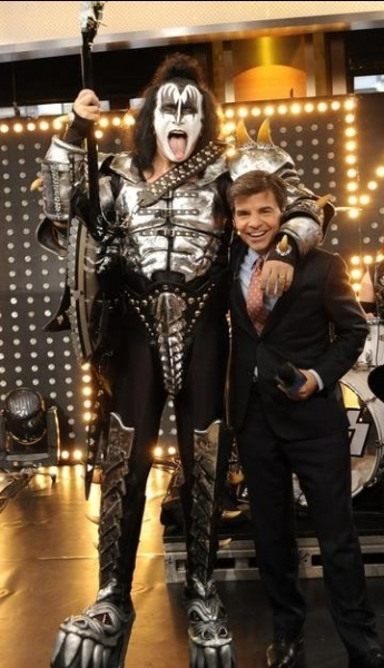 GENE SIMMONS, GEORGE STEPHANOPOULOS