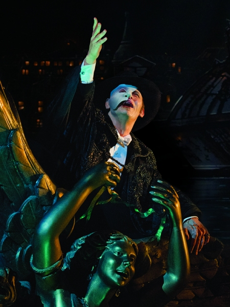 Photo Flash: First Look at Marcus Lovett, Simon Thomas and More in THE PHANTOM OF THE OPERA